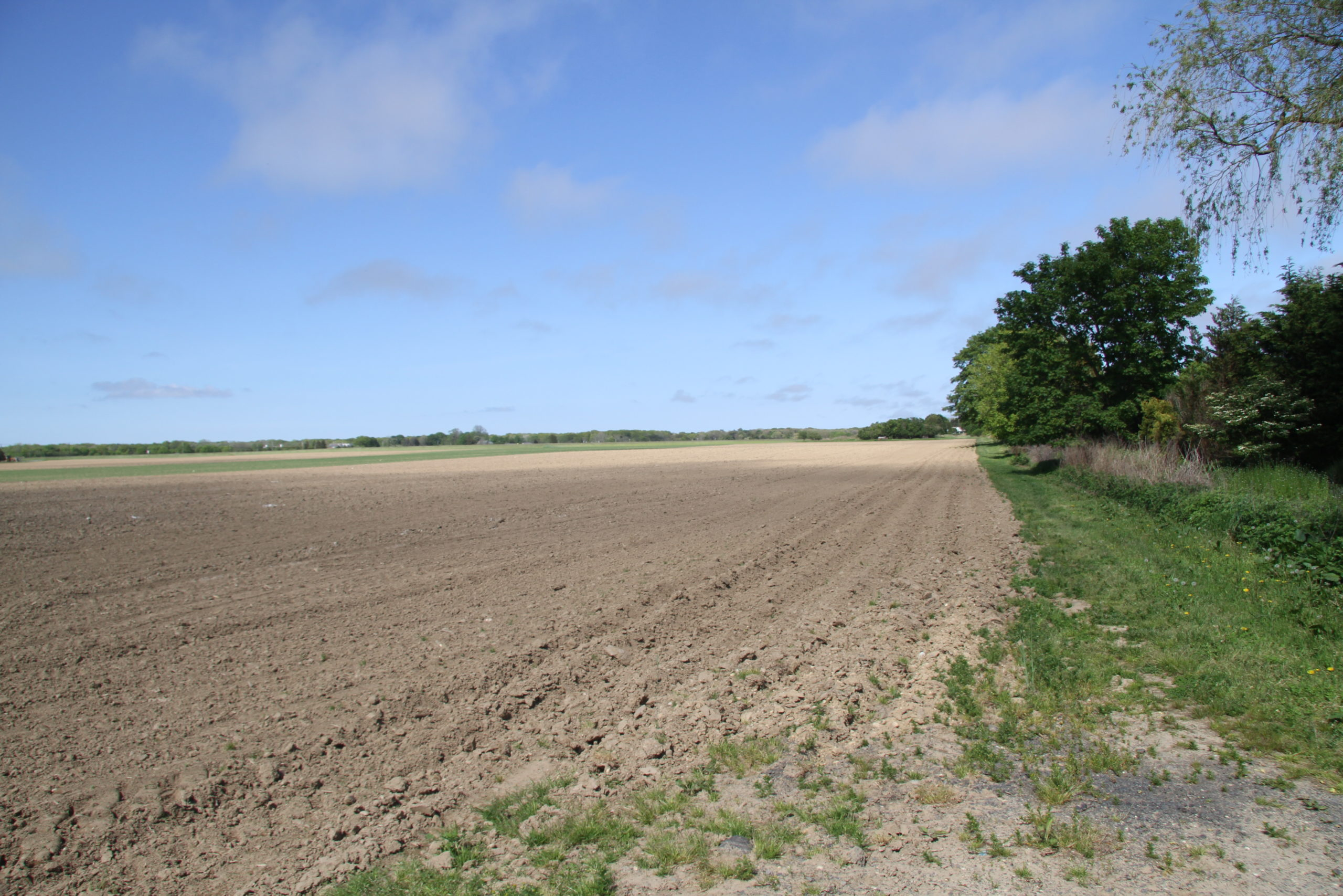 A Sagaponack farmer stepped on some toes earlier this Spring when he plowed up the fringes of a protected hiking trail.