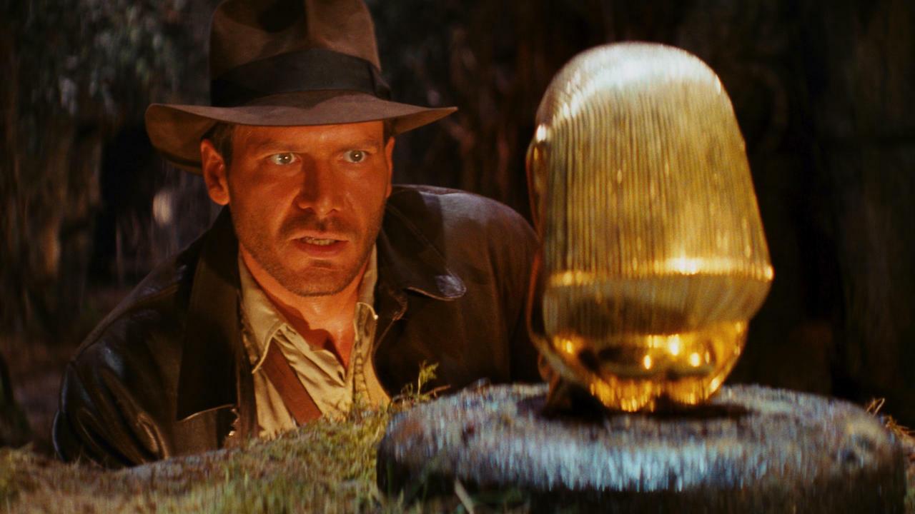 A still image from Steven Spielberg's 1981 film
