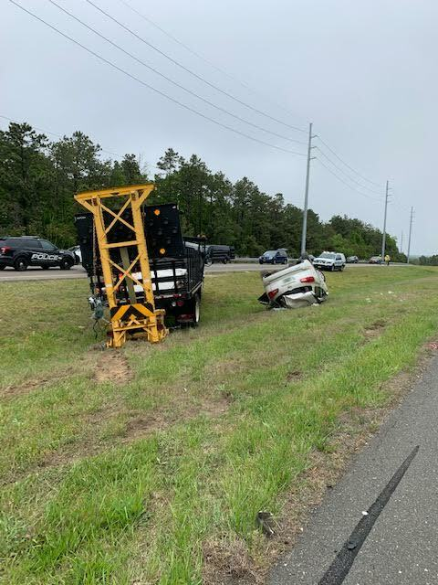 Southampton Town Police were called to a two vehicle crash on County Road 51 on Friday morning.