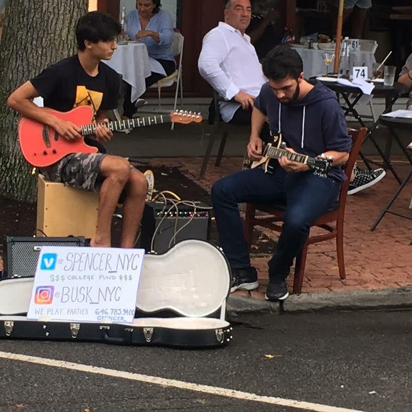 Musicians played at 75 Main