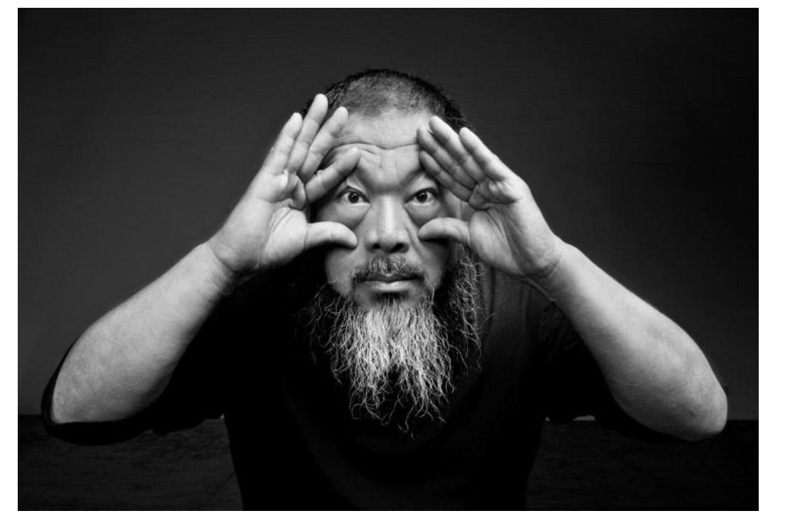 Artist Ai Weiwei.