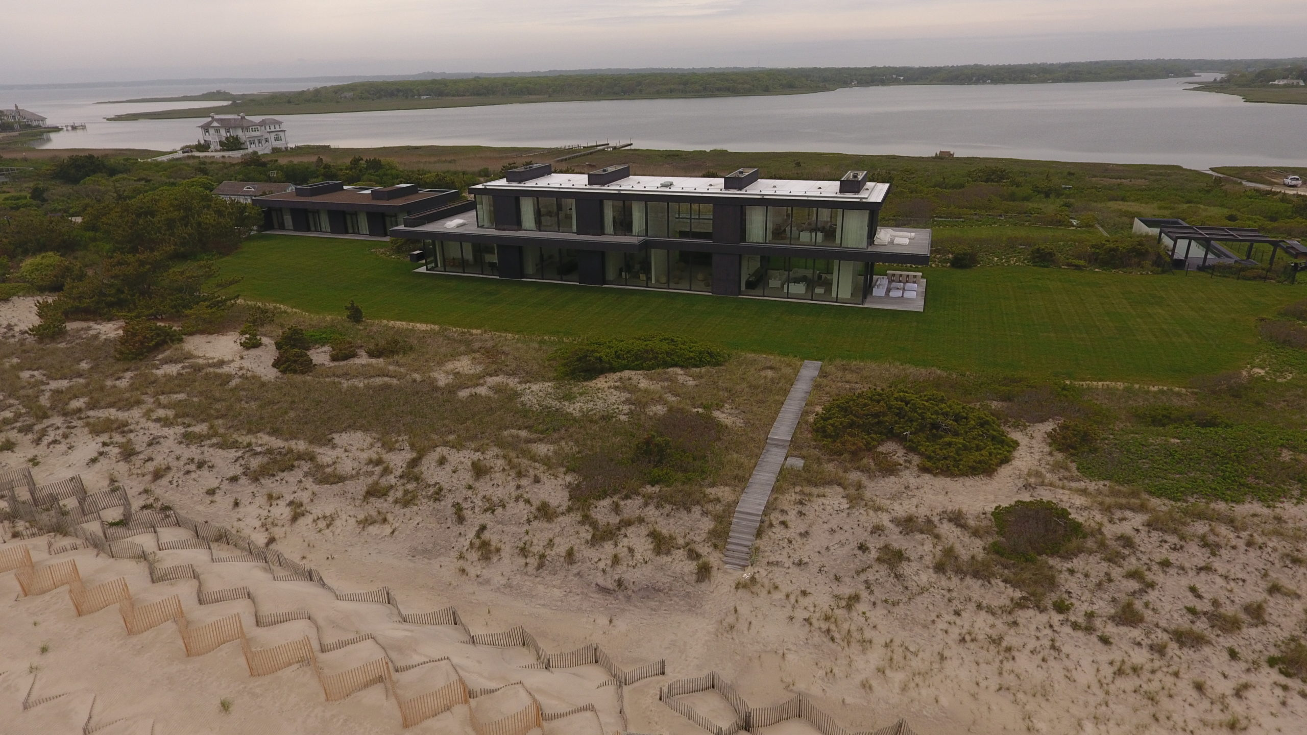 Calvin Klein sold his Southampton Village oceanfront estate in March for $84 million.