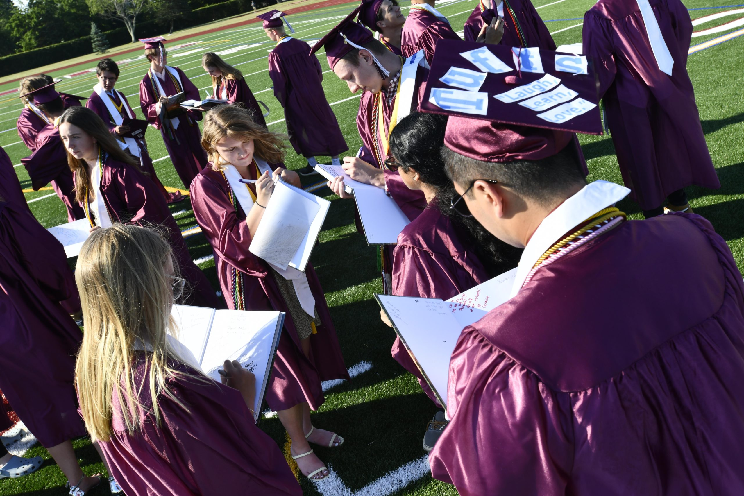 Southampton High School's unique 127th commencement was held on Friday.