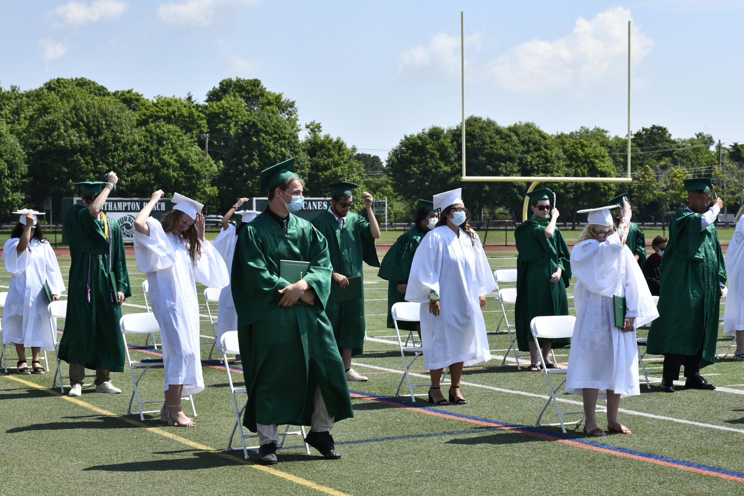 Westhampton Beach High School hosted its 112th commencement on Friday.