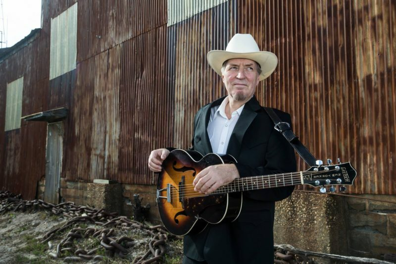 Gene Casey performs with The Lone Sharks on July 30.