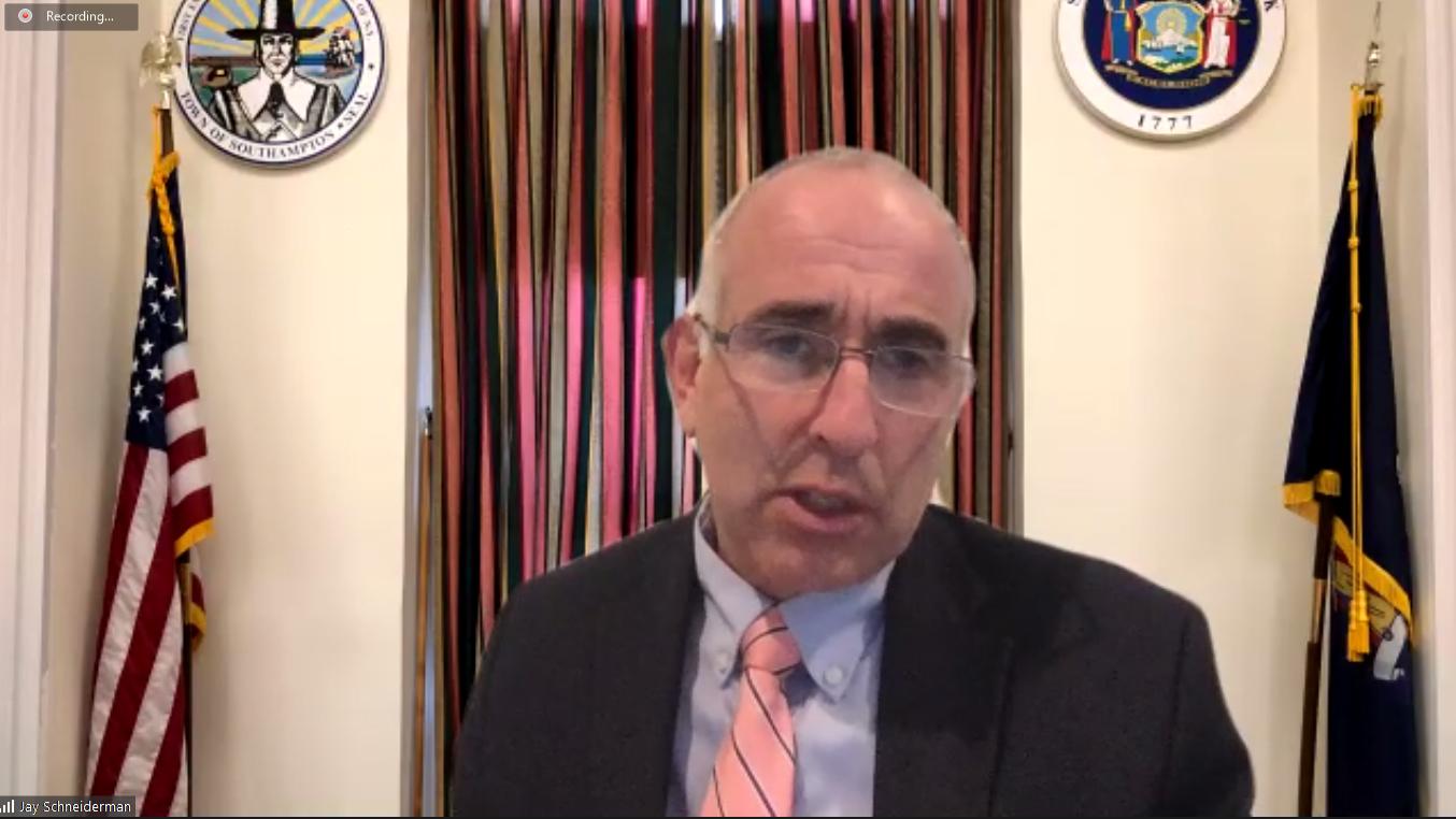 Southampton Town Supervisor Jay Schneiderman