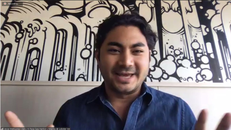 Jesse Matsuoka, partner at Sen Sag Harbor, KPasa Sag Harbor, Manna at the Lobster Inn