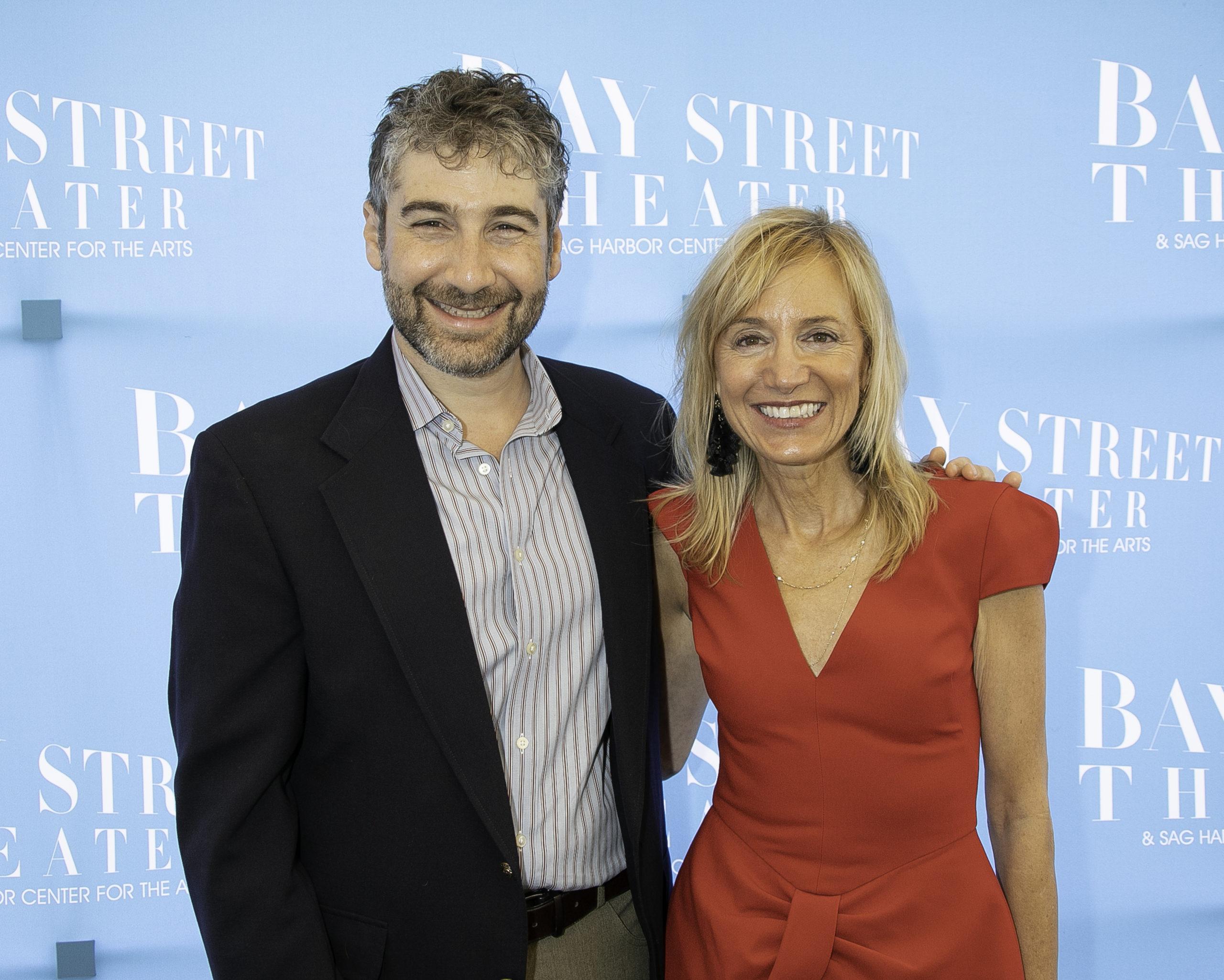 Scott Schwartz and Tracy Mitchell.
