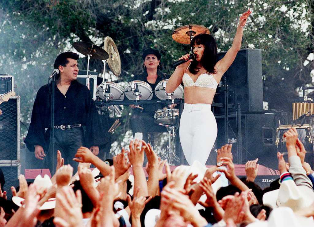 """On July 19, Gregory Nava's smash hit musical-biopic of the famous Tejano pop star """"Selena"""
