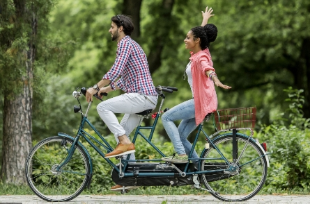 Private Guided Wine Country Bike Tour for Two-Nature Abounds