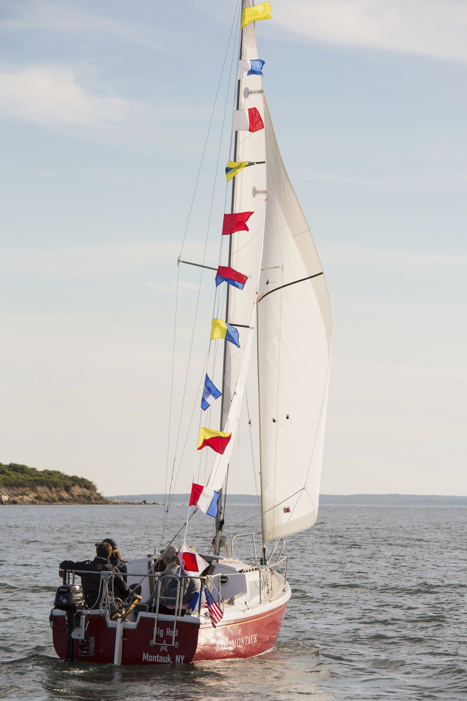 Sailing clubs have slowly resumed their summer programming. COURTESY SAIL MONTAUK