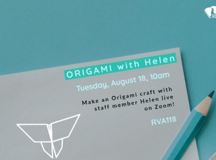 Origami with Helen