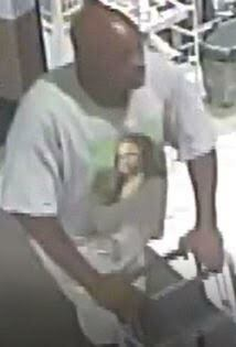 Police are looking for this man, who they say stole from the Rite Aid in Hampton Bays.