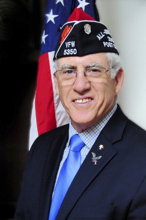 Commander William Hughes of Post 5350 in Westhampton Beach is one of 251 VFW Post commanders worldwide to earn the title of All-American Commander.