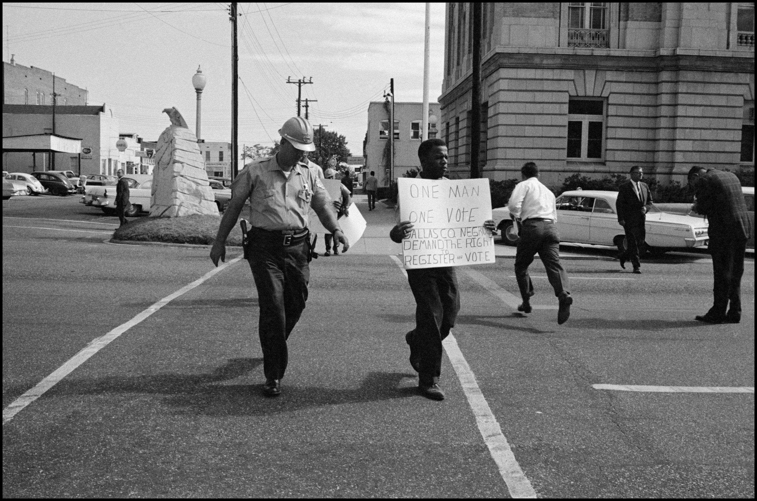 "John Lewis in ""John Lewis: Good Trouble,"" a Magnolia Pictures release. © Danny Lyon/Magnum Photos."
