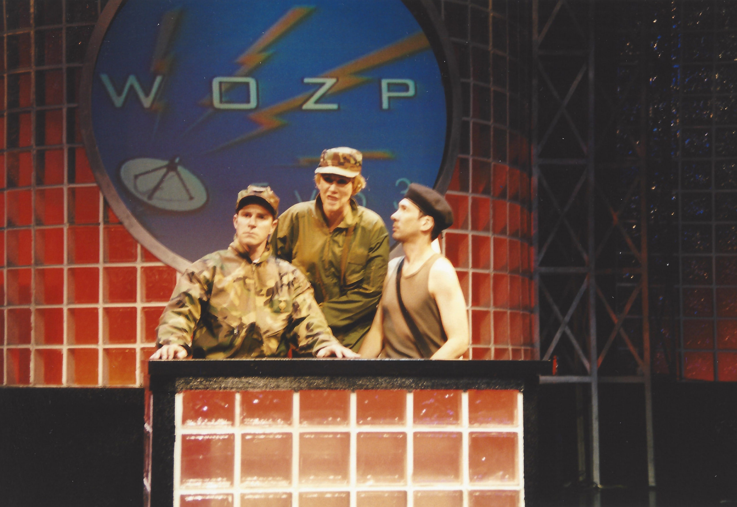From left, Roger Bart, Randy Graff and Robert Sella in the 1999 Bay Street Theater production of