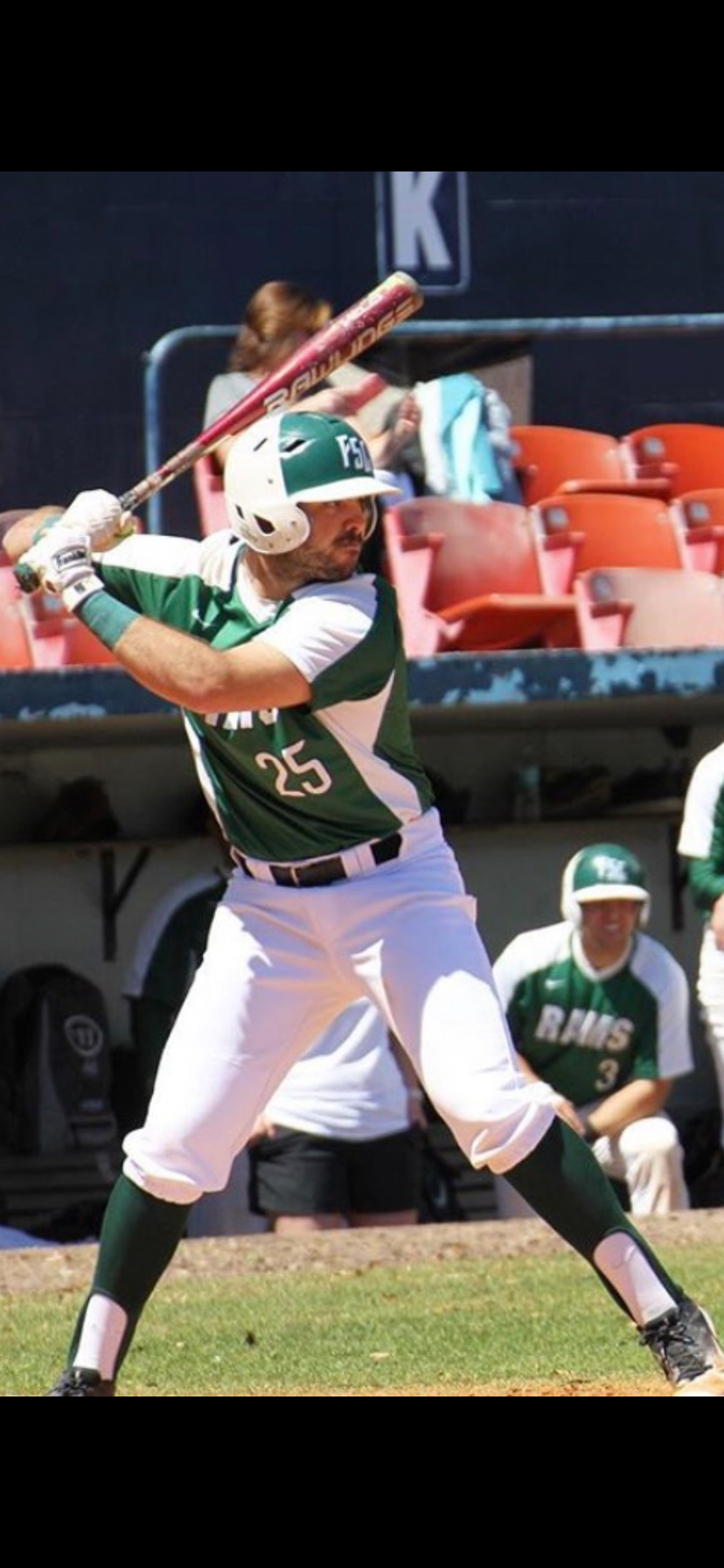 Ernie Geraci, former Westhampton Beach High School and Westhampton Aviators baseball player, signed with the Roswell Invaders of the Pecos League.