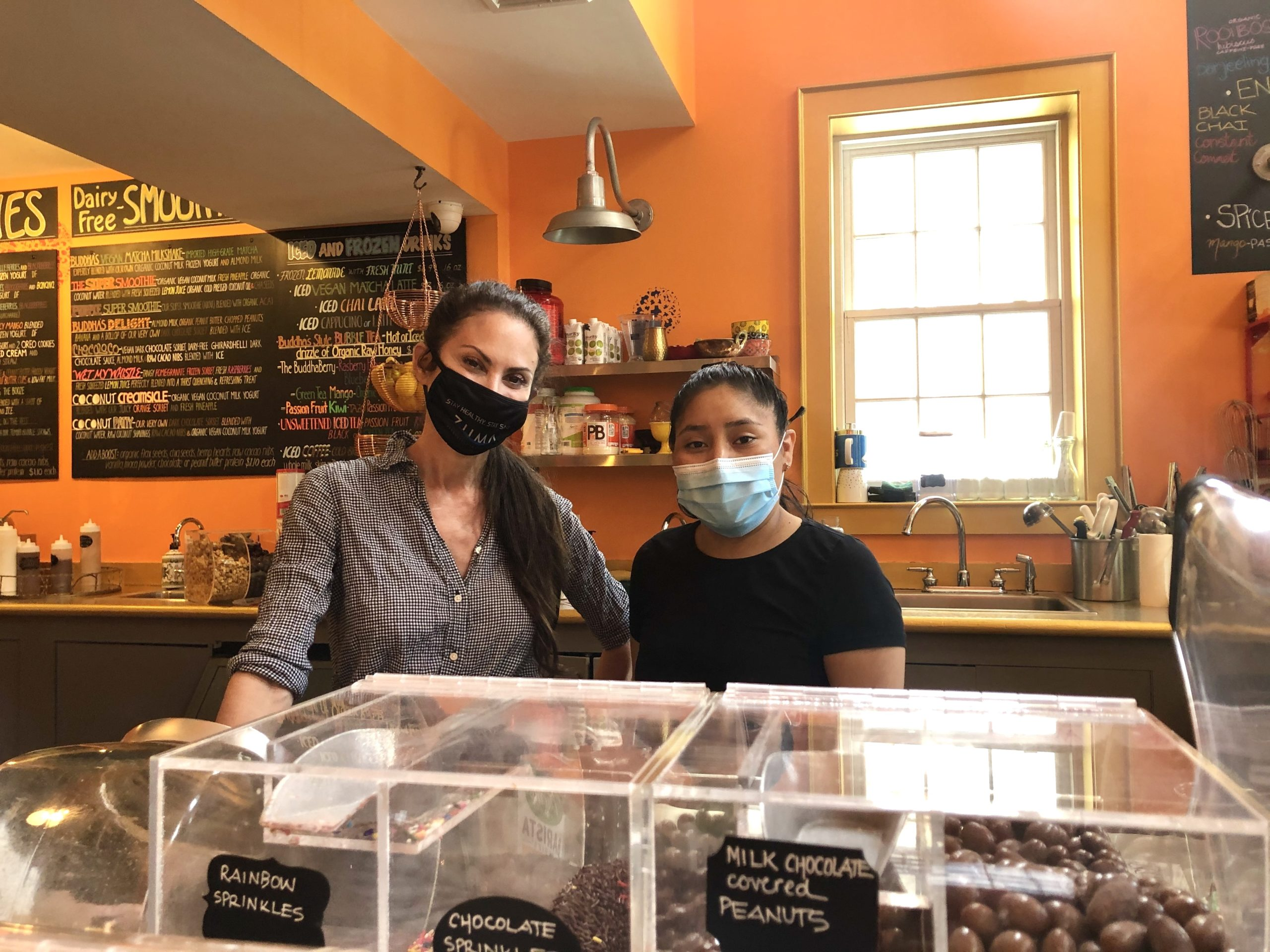 At Buddhaberry in Sag Harbor, owner Nancy Passaretti was able to hire college students both home and vacationing in the East End for the summer to fill a void left after President Donald Trump cut vital visa programs.