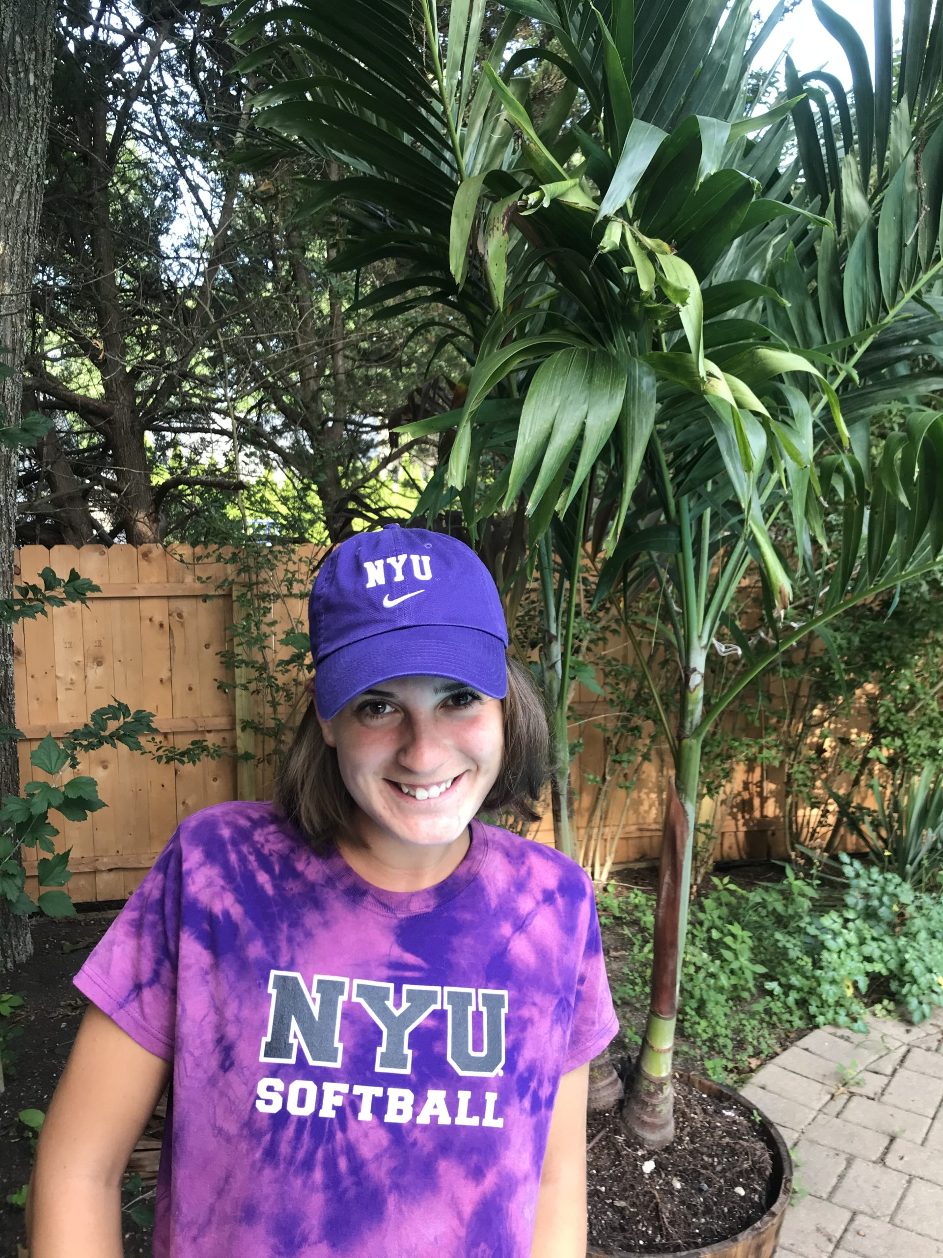 Lily Candelaria is very excited to attend NYU, where she will play on the softball team.
