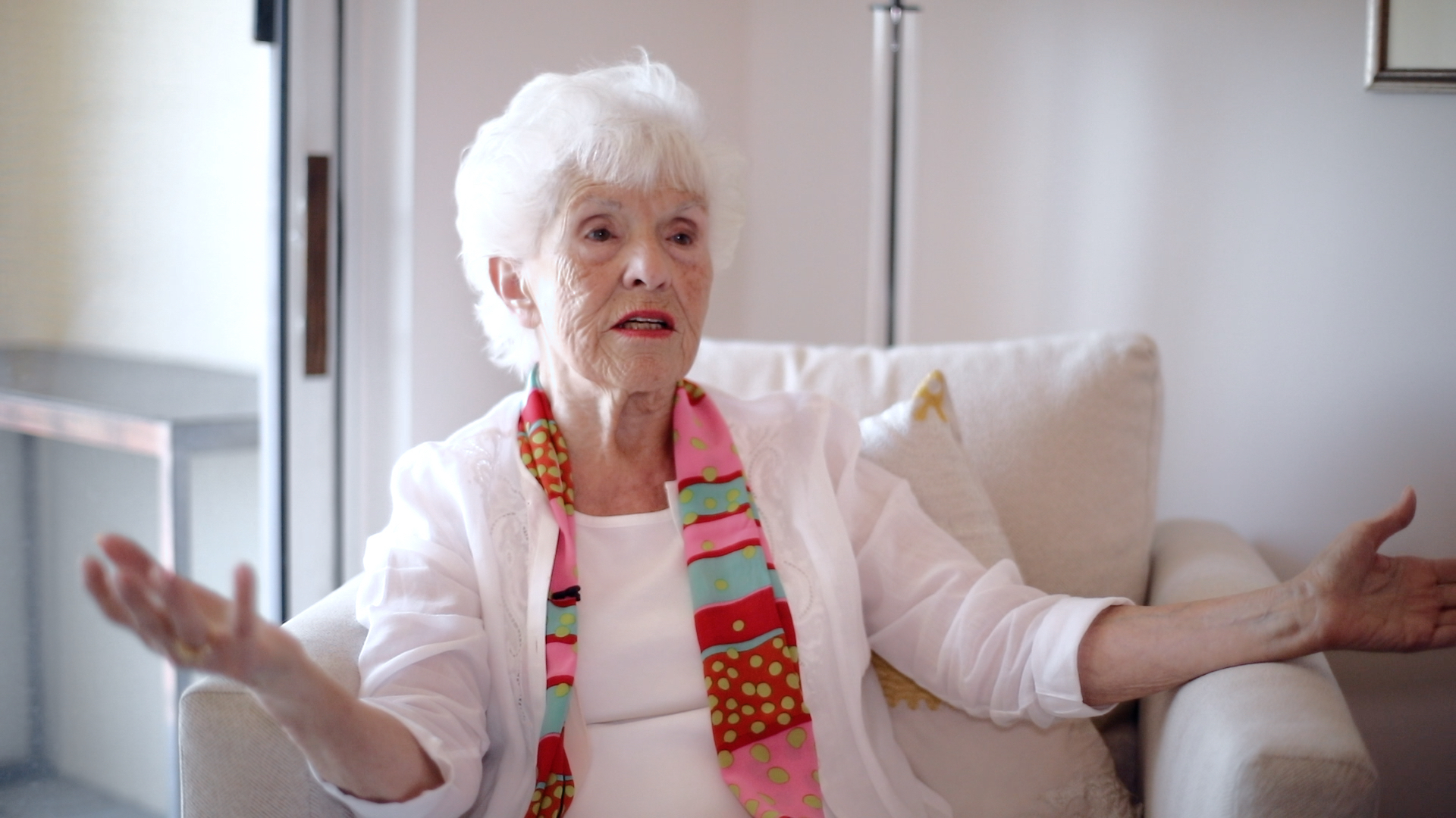 Maria, a subject in Robin Leacock's documentary