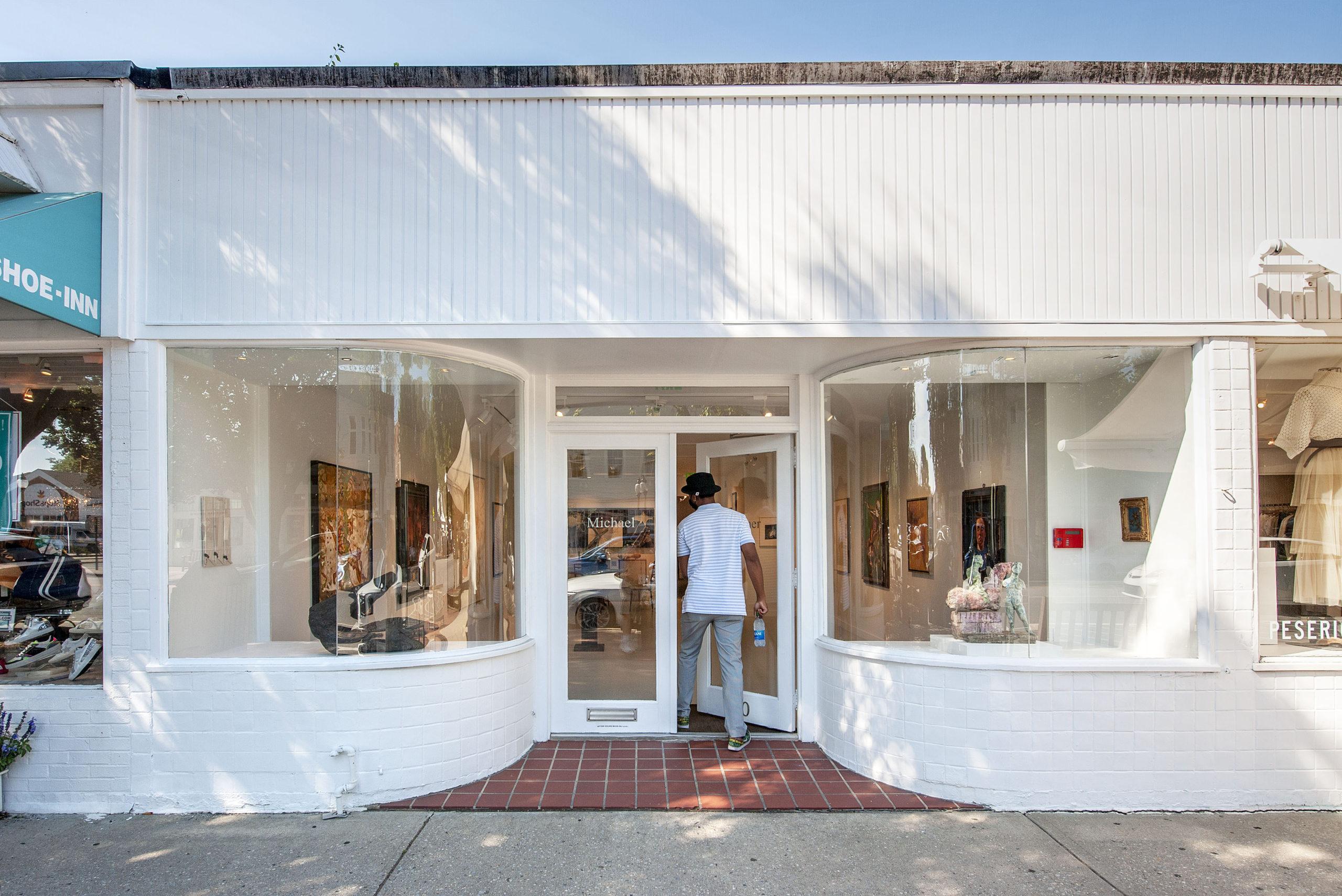 Michael Werner Gallery in East Hampton.