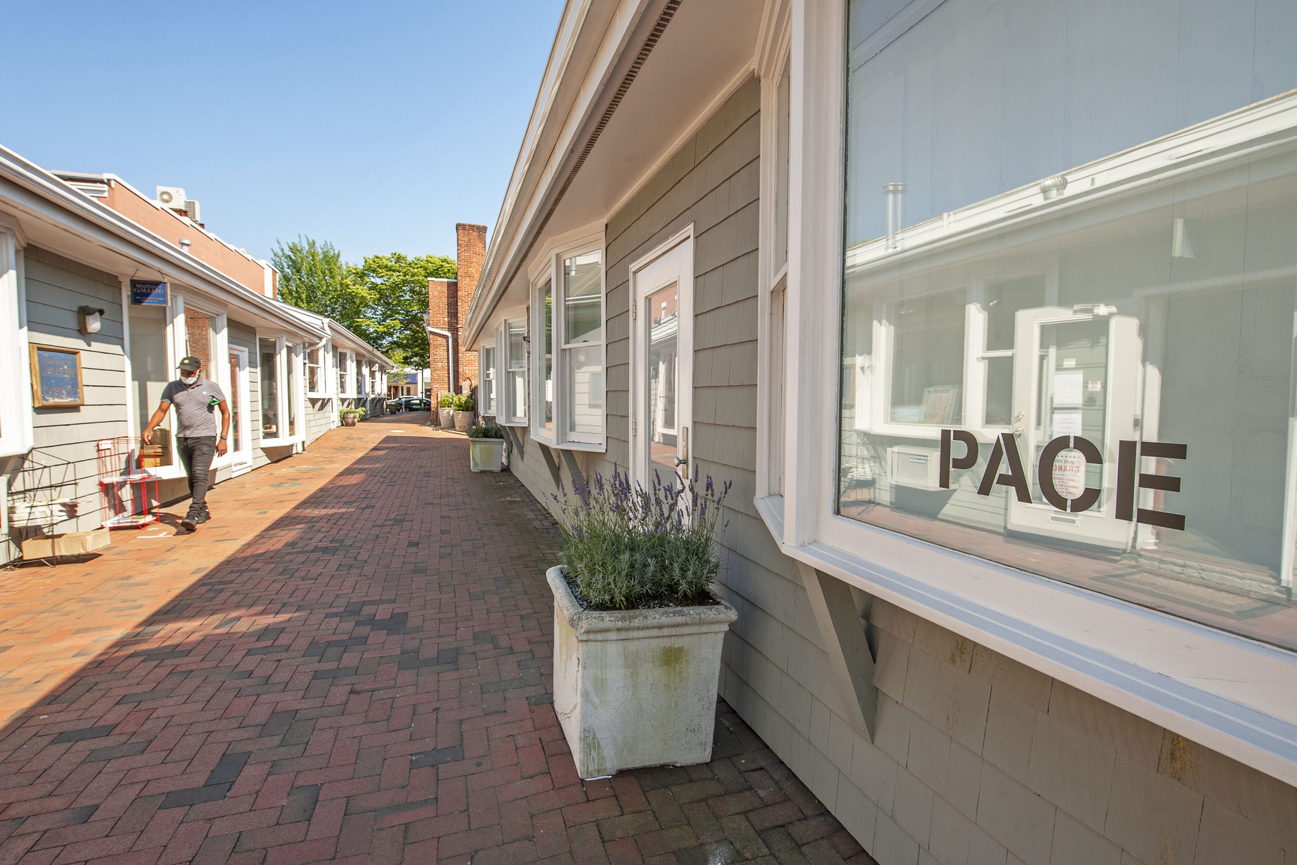 Pace Gallery in East Hampton.
