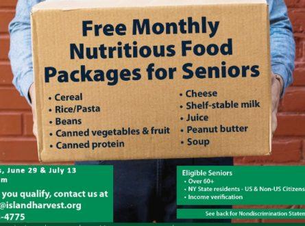 Island Harvest Senior Food Distribution