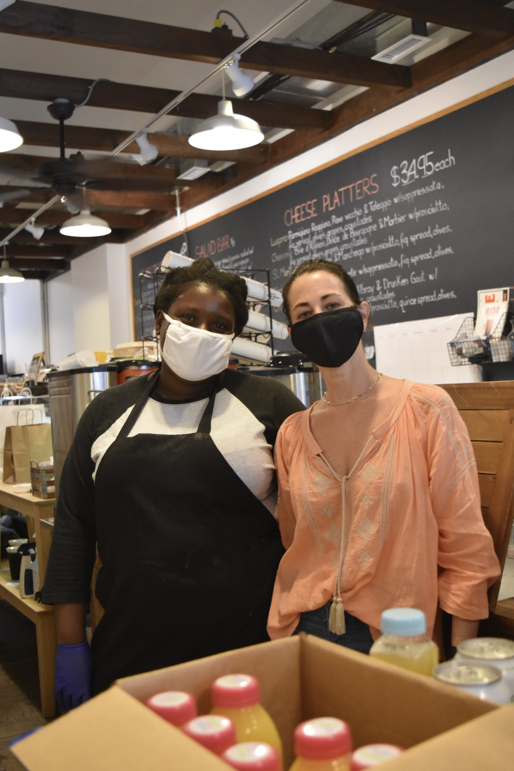 Southampton Village Cheese Shoppe Owner Nikki Cascone-Grossman and General Manager Nikita Easie have struggled to find staffing for the summer in the wake of Trump's ban on foreign work visas.