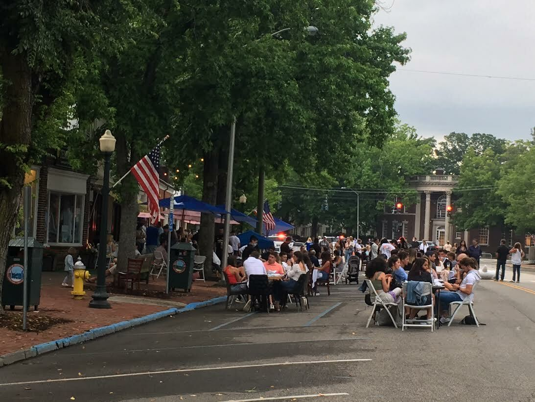 Southampton in the Streets debuted in June. Officials hope it will continue , with some tweaks, soon. KITTY MERRILL