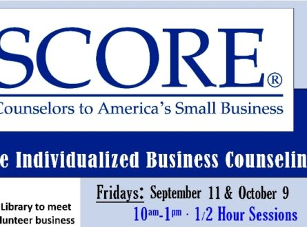SCORE: Free Individualized Business Counseling