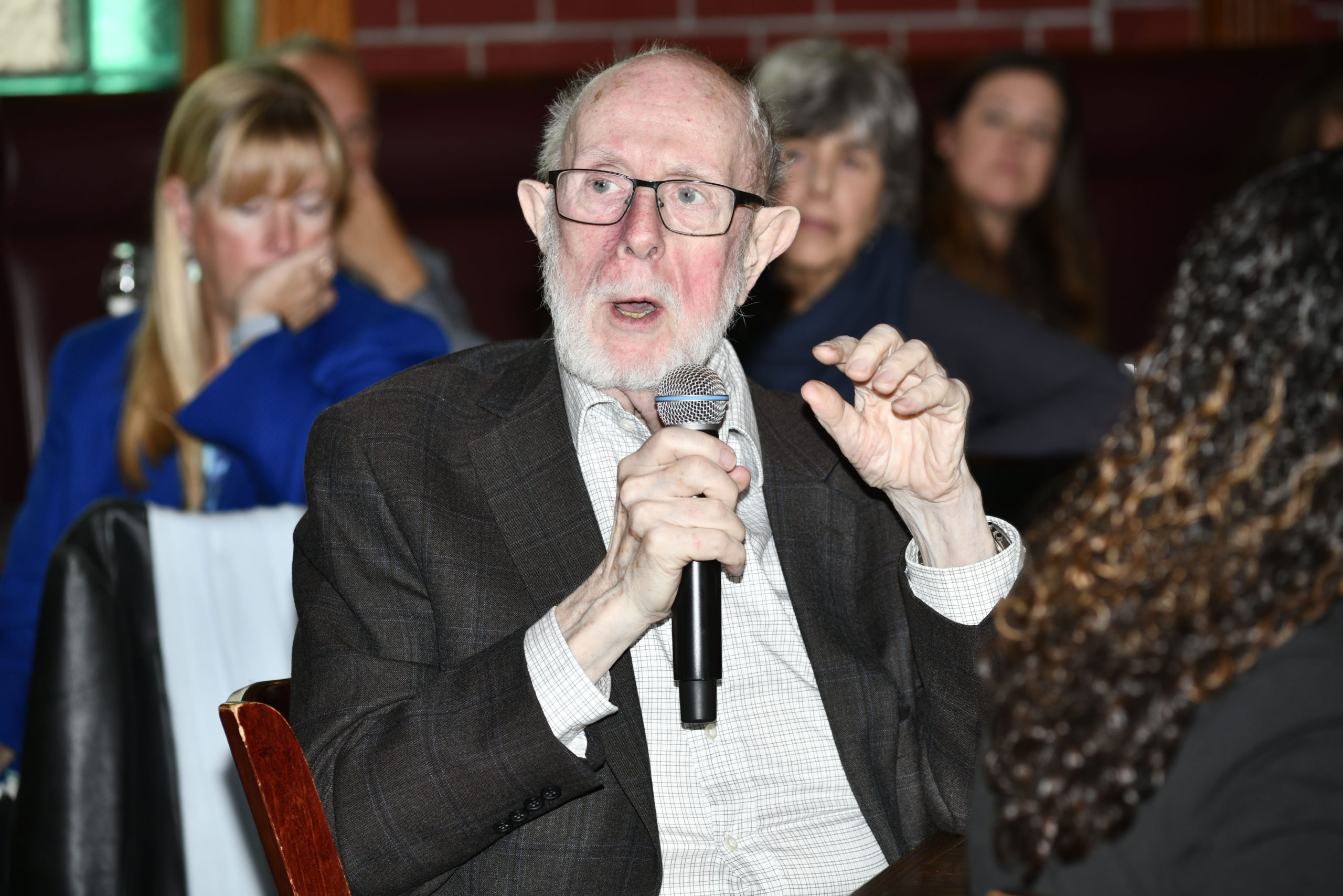 Hank Beck at Press Sessions event in 2019.  PRESS FILE