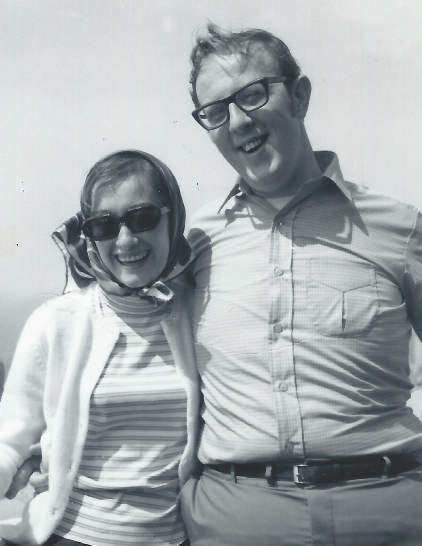 Janet and Hank Beck in 1961.