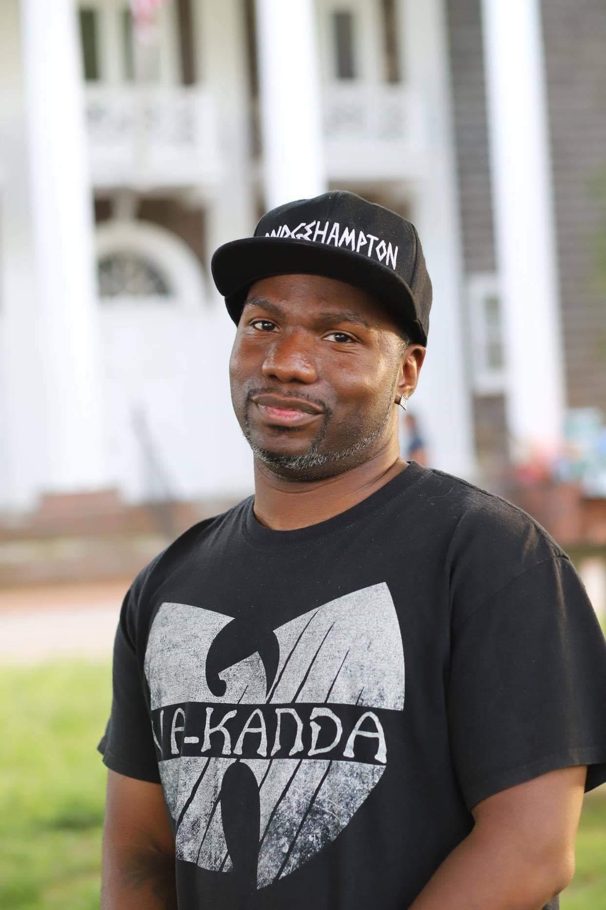 Bridgehampton-based activist Willie Jenkins.