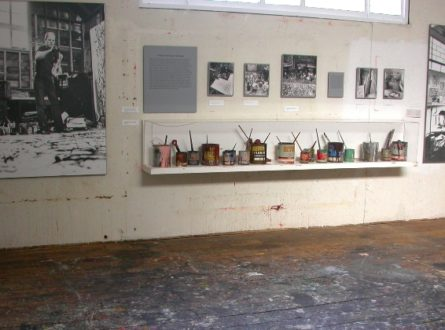 Express Yourself! Zoom Tour of Pollock-Krasner Studio and Drip Painting (adults and teens)