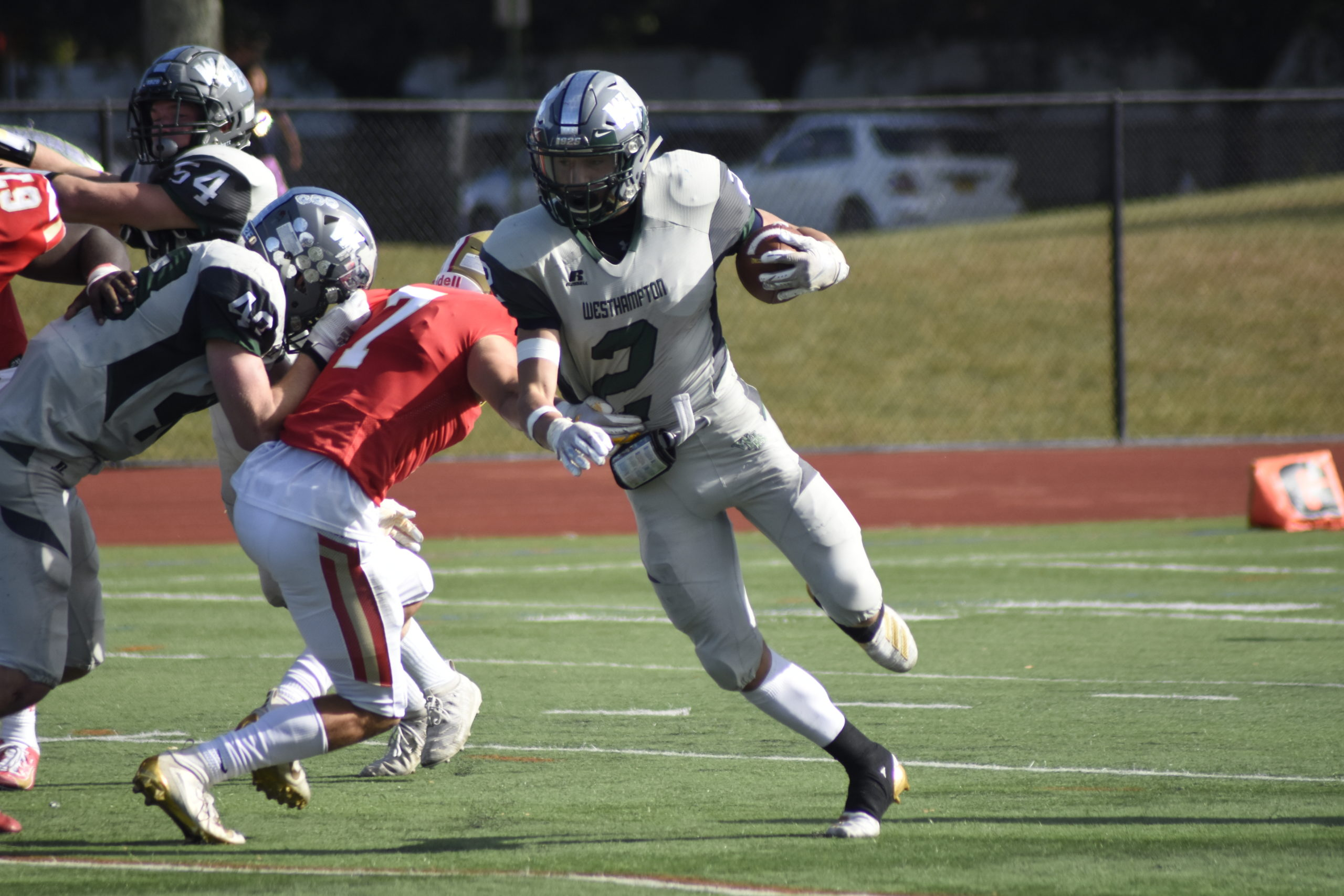 A Westhampton Beach Hurricanes game in 2019.  EXPRESS FILE