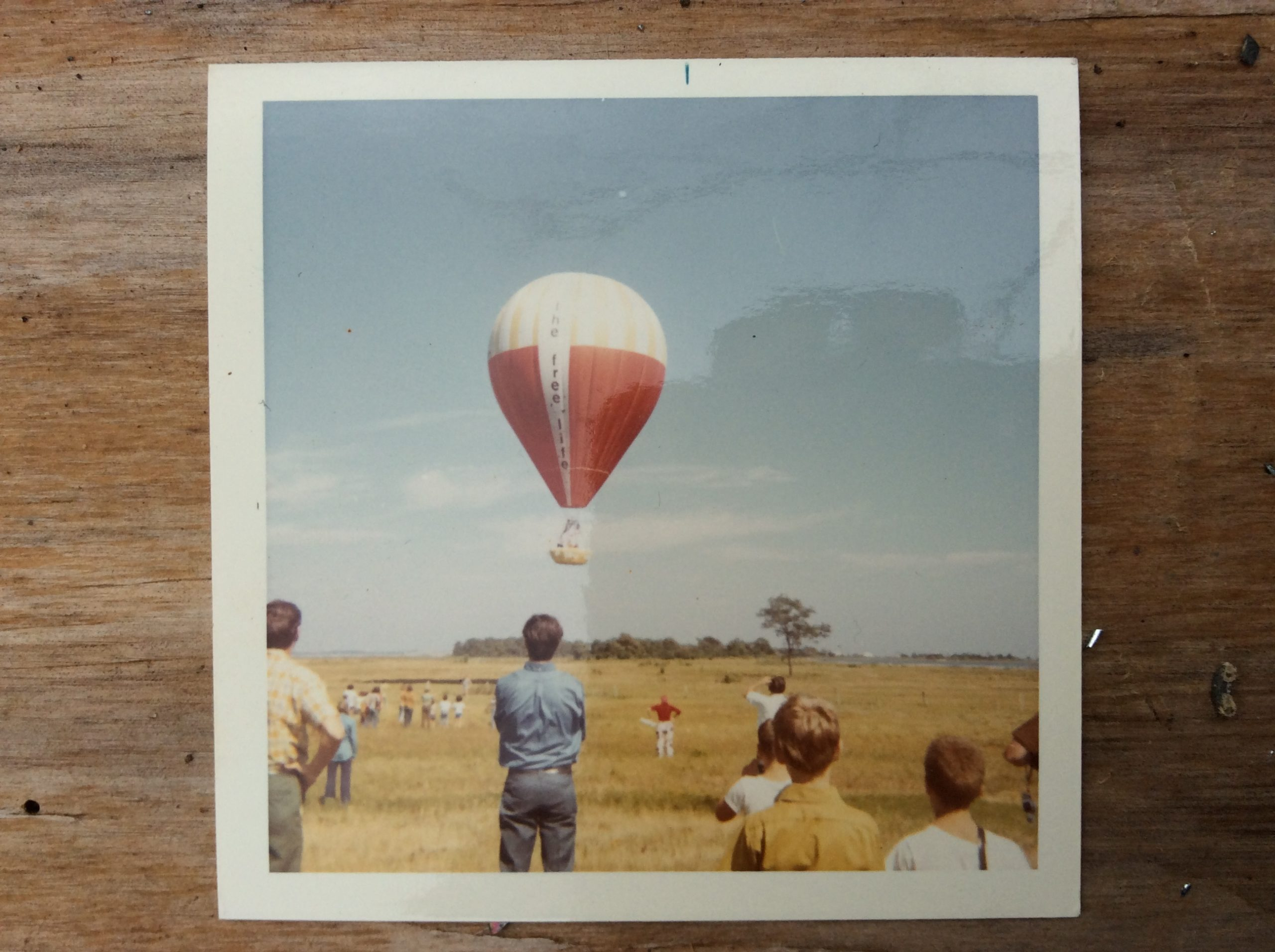 The Free Life takes off from a field in Springs, September 20, 1970.