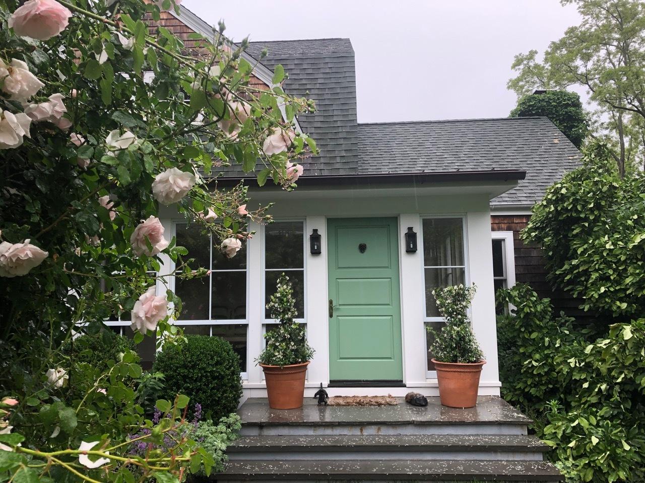 A Hudson Avenue, Shelter Island, garden featured on the Parrish Art Museum's Landscape Pleasures tour.