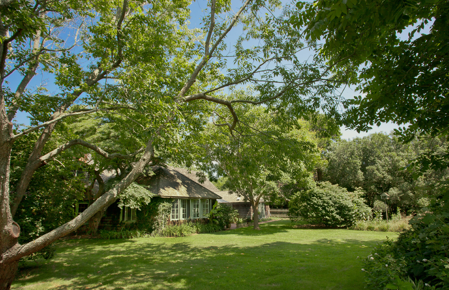 The Sagaponack home of the late Peter Matthiessen.