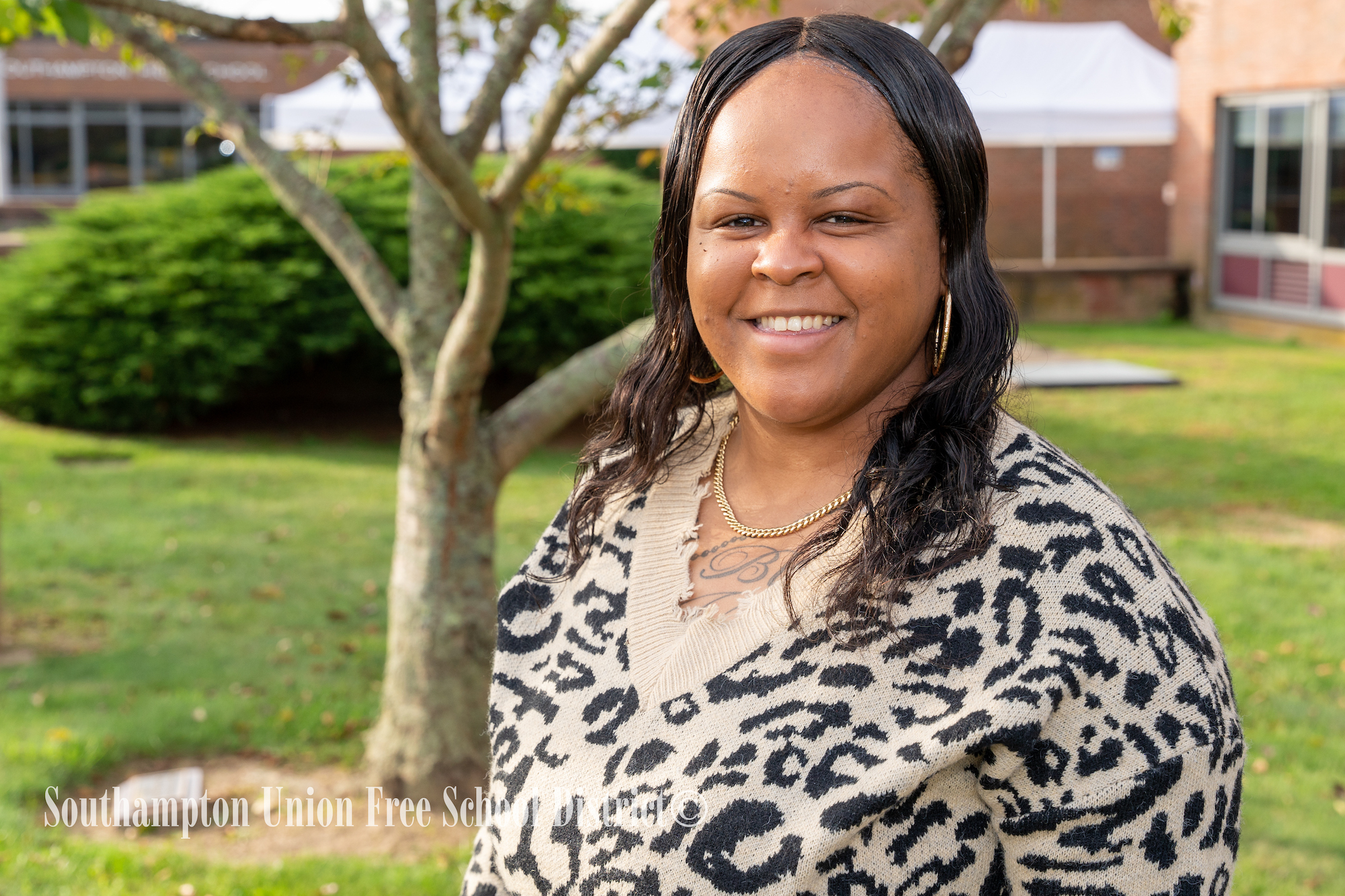 The Southampton School District has promoted Tieka Allen to lead guard.