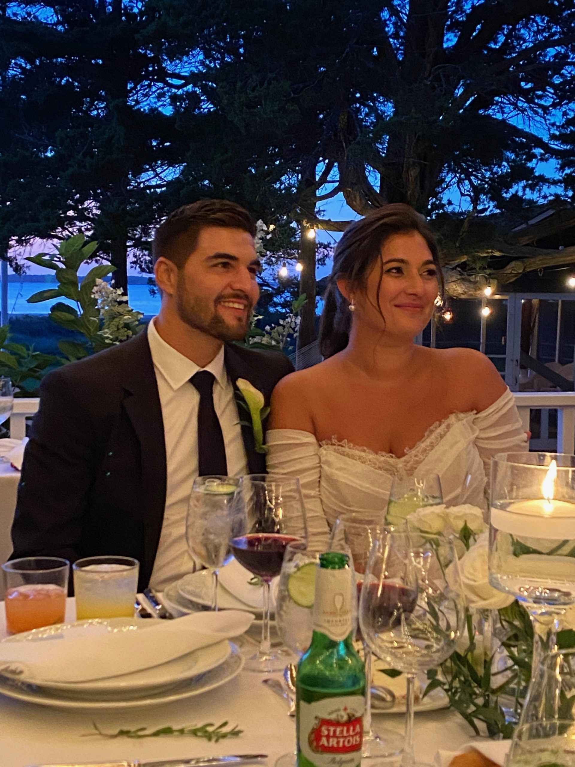 Meaghan Cornacchio and Chase Andreassi both from Southampton were married Sept 12, 2020 at the Basilica Parish of Sacred Hearts if Jesus and Mary. The happy couple will reside in their new home in Southampton.