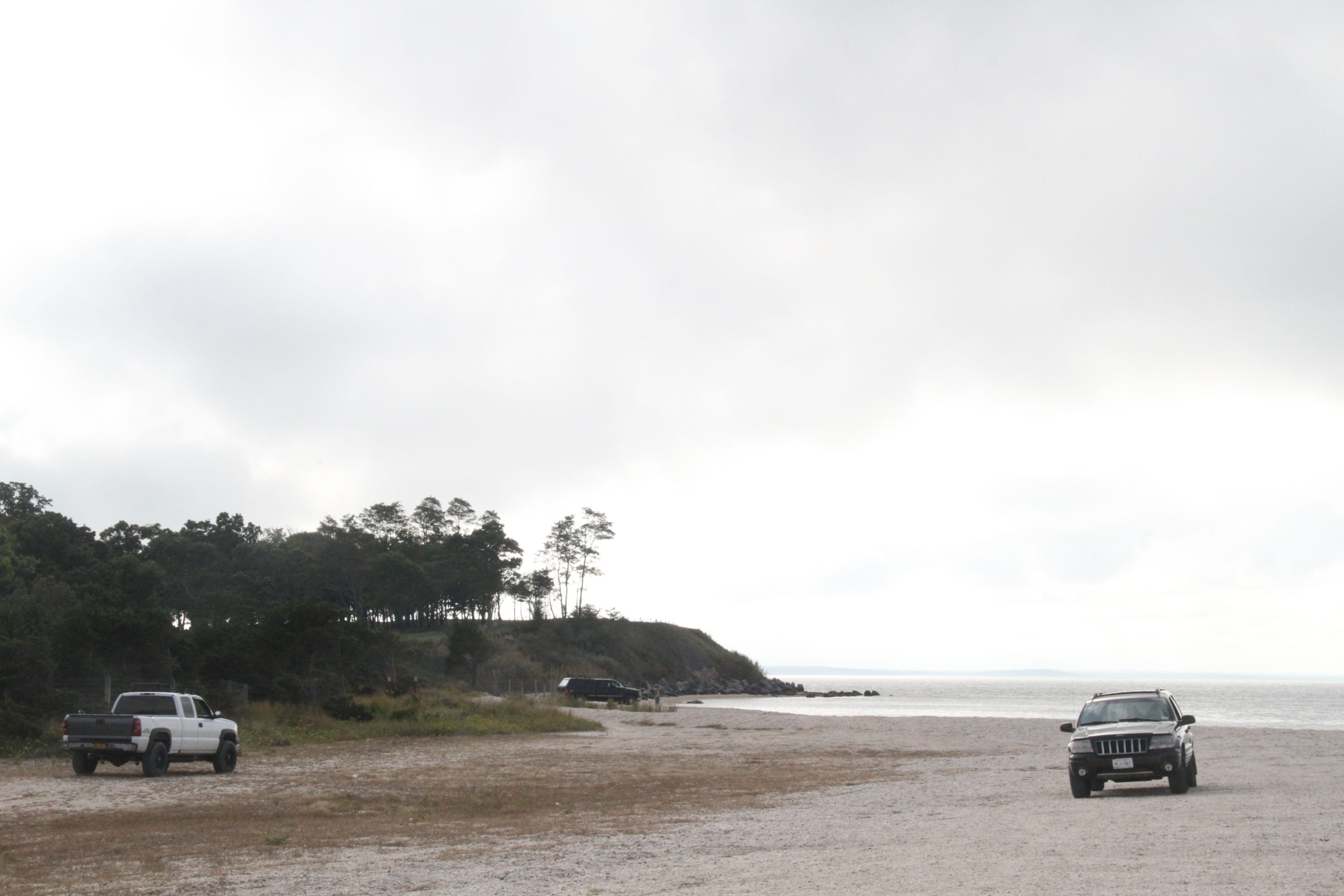 The owner of the 500-acre Cow Neck Preserve has asked the Southampton Town Conservation Board for permission to place boulders across North Sea Beach to prevent 4x4 vehicle access to the western post portions of the beach.
