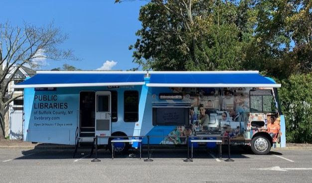 The Suffolk Cooperative Library System's mobile unit will be at the John Jermain Memorial Library in Sag Harbor on September 21 to offer help with census forms The van will be at the Rogers Memorial Library in Southampton on Saturday, September 19, and the Quogue Library on Thursday, September 24.