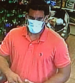 Police are looking for this man in connection with a theft in Sagaponack.