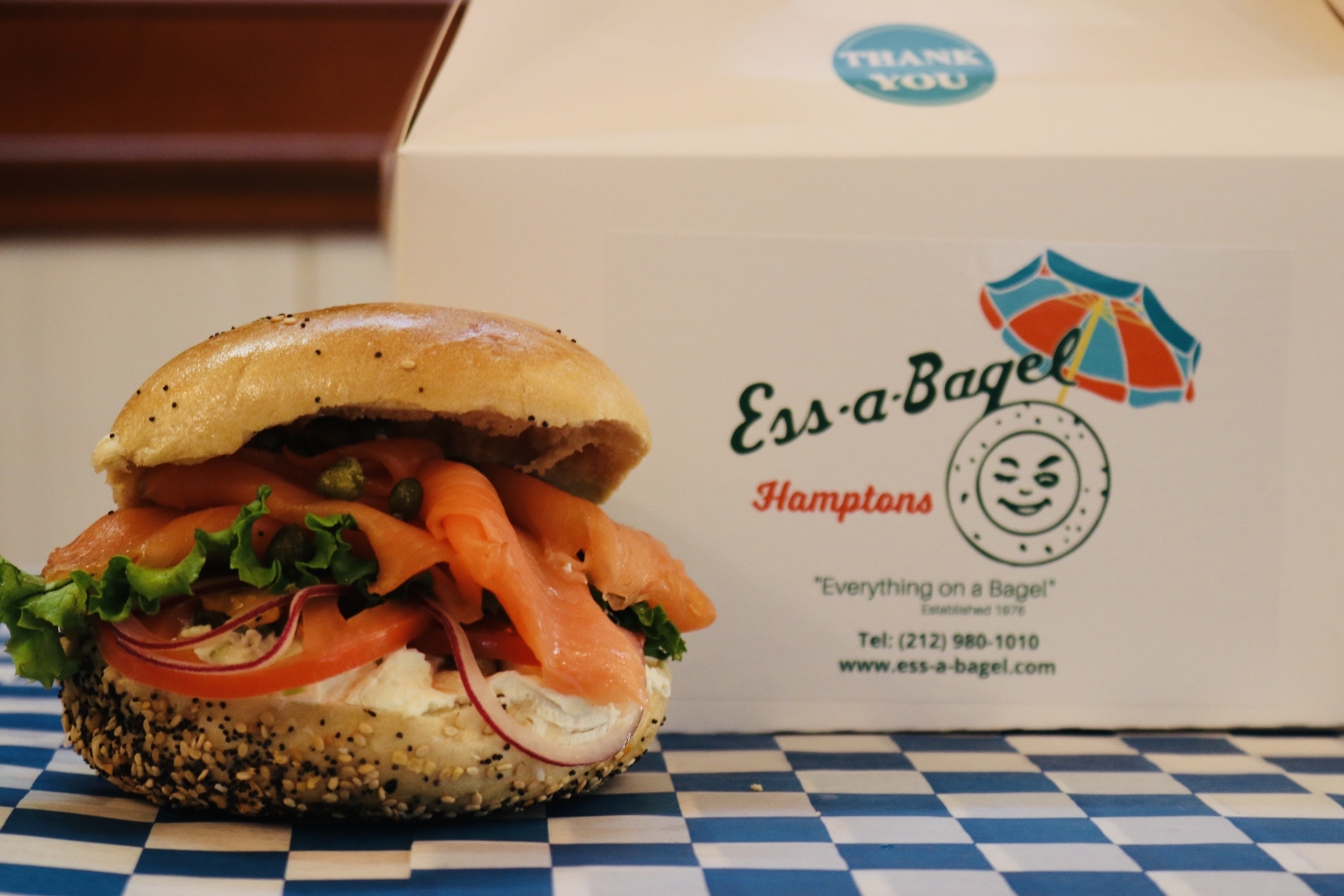 Ess-a-Bagel packages now available on a Hampton Jitney near you.