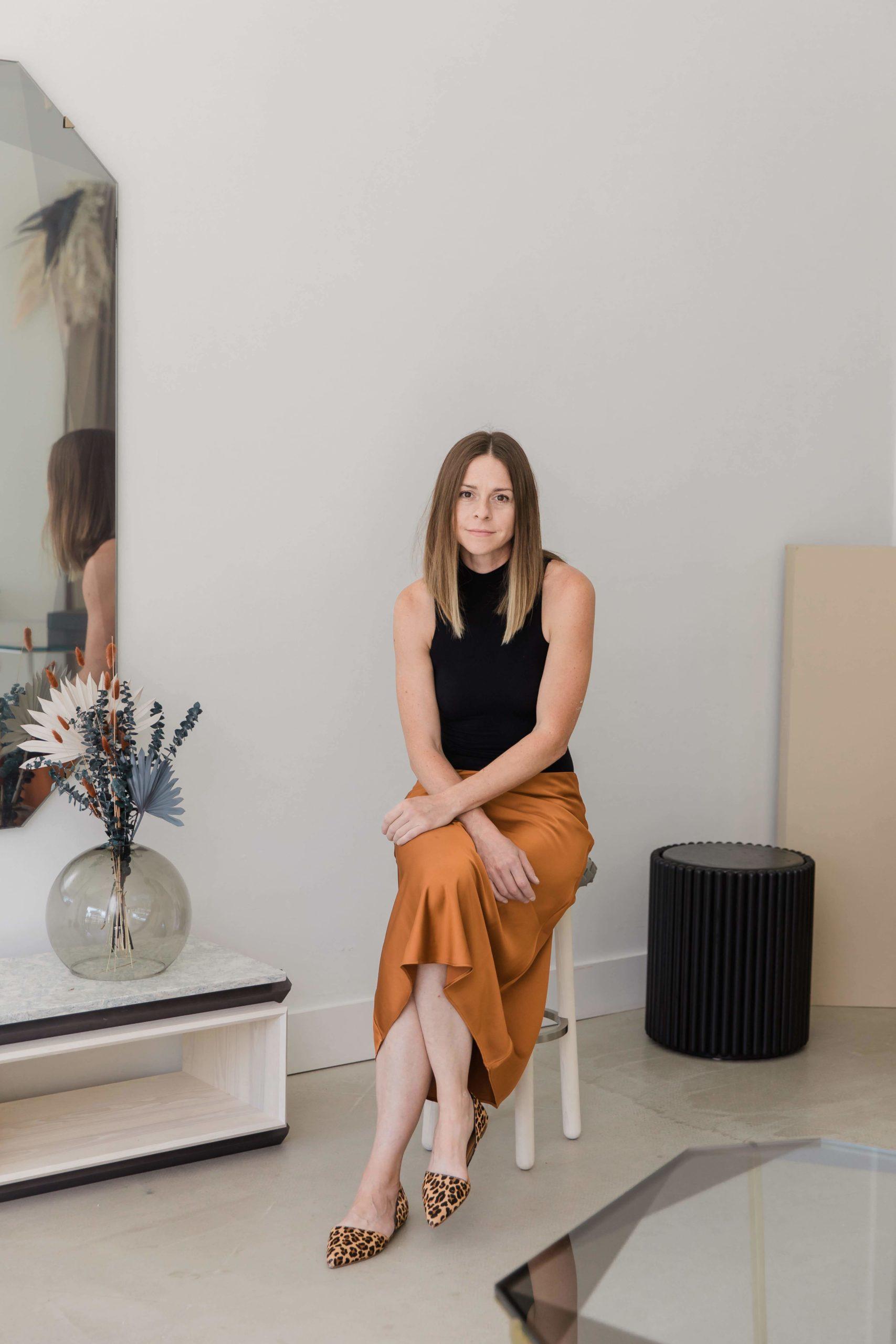 Debra Folz has opened a new showroom in Westhampton.