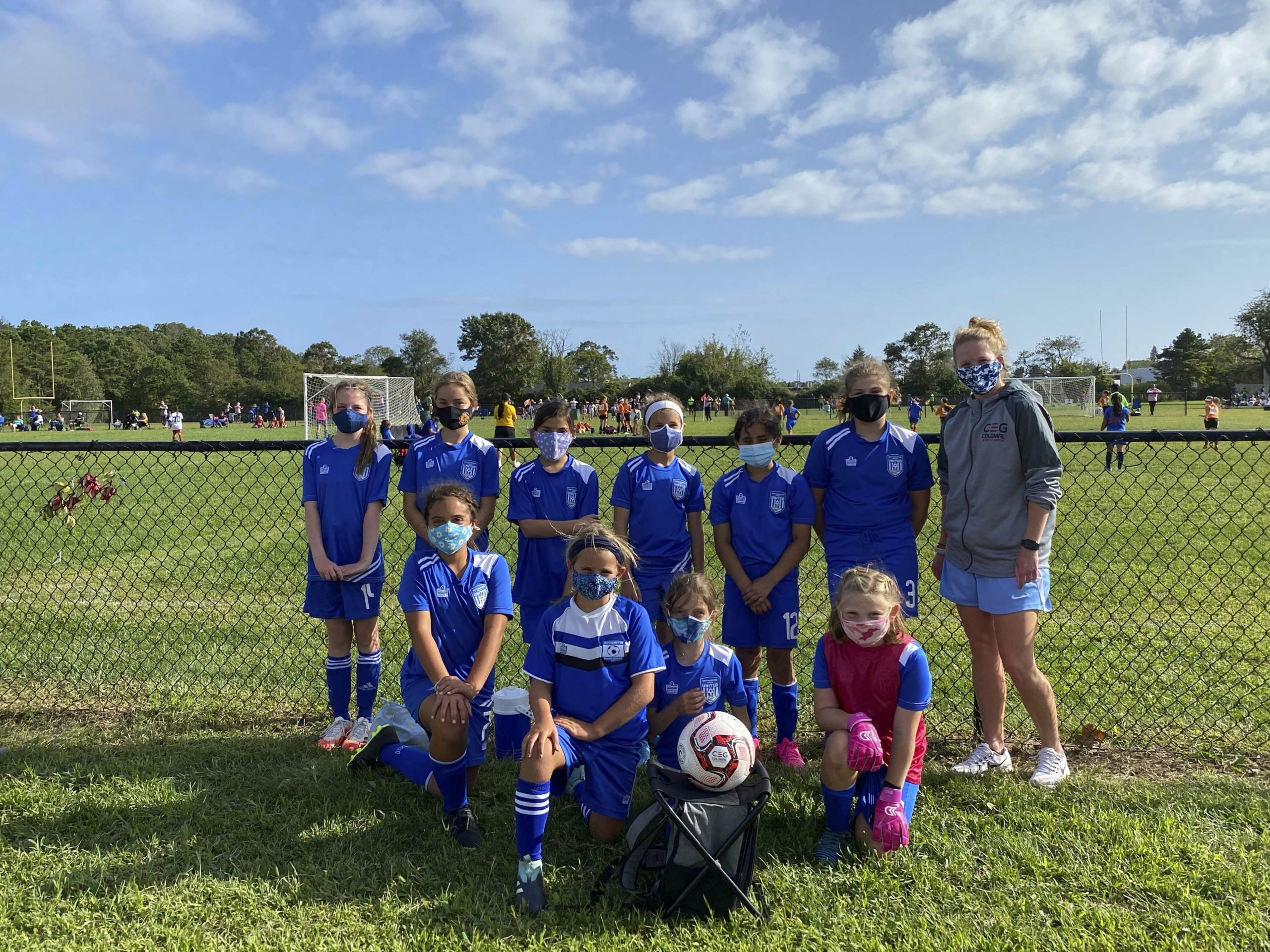 Travel team players who missed out on the spring season because of the pandemic have been thrilled to be playing with teammates again this fall. The Southampton Soccer Club has provided an outlet for many children on the East End who have seen regular high school sports seasons cancelled.