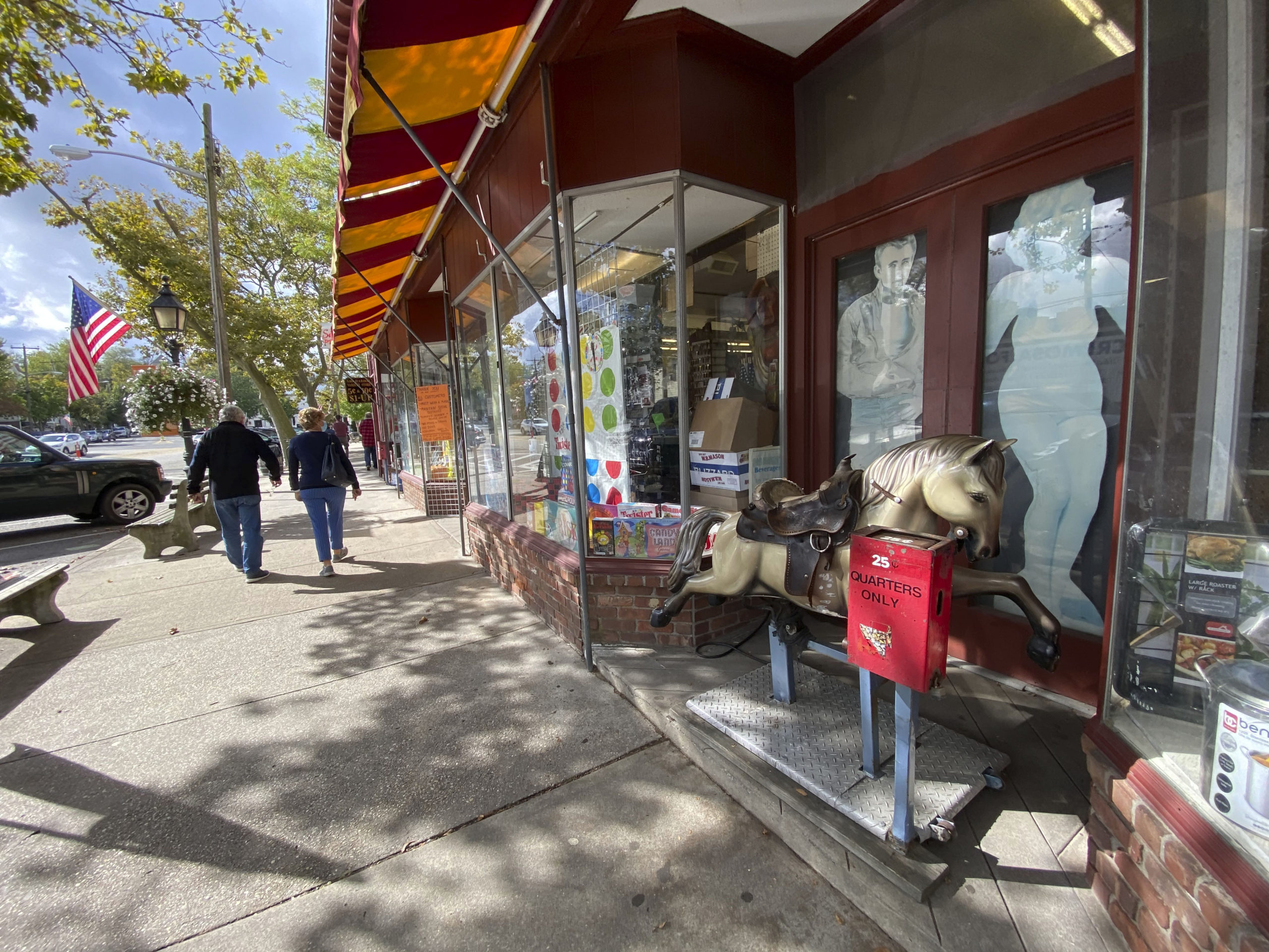 The Sag Harbor Variety Store is celebrating 50 years under the current ownership.  DANA SHAW