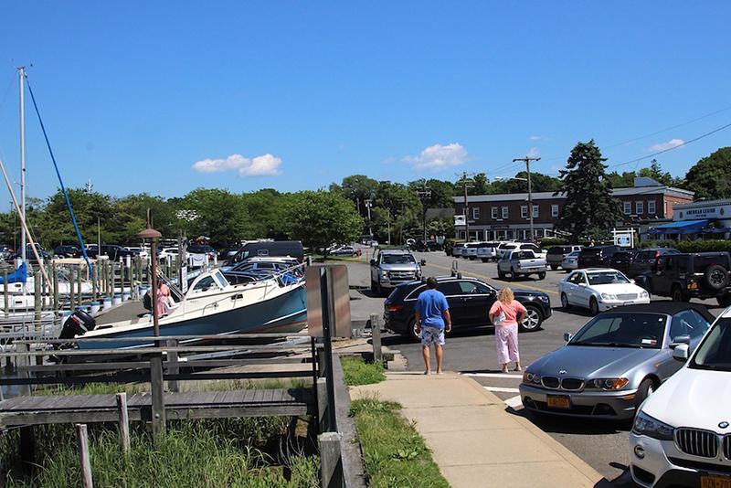 Sag Harbor Village officials approved a six-month moratorium along its waterfront. STEPHEN J. KOTZ