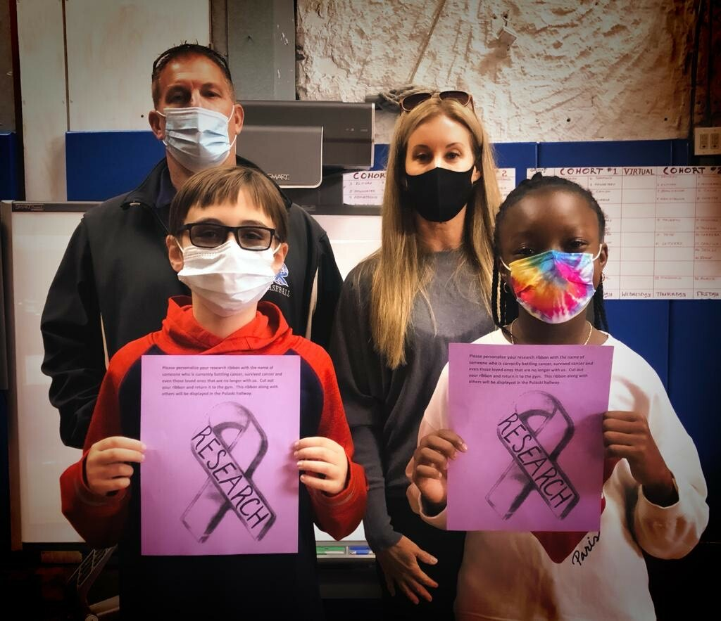 Riverhead Central School District students are participating in cancer awareness projects during the month of October.
