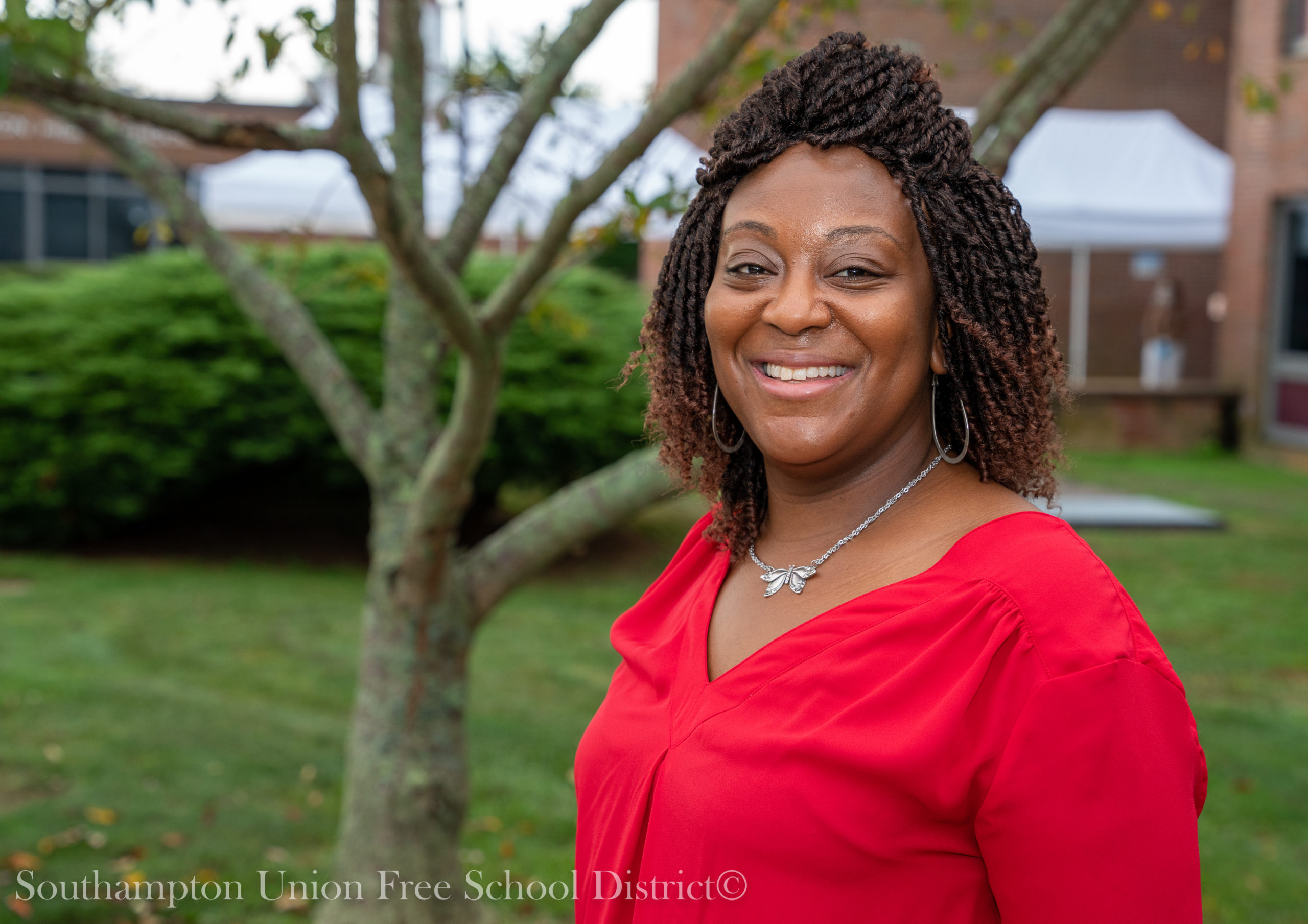The Southampton School District has promoted teaching assistant Natasha Jeffries to community placement coordinator for the district's new Community as a Classroom program.
